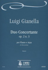 Gianella, Luigi : Duo Concertante Op. 2 No. 3 for Flute and Harp