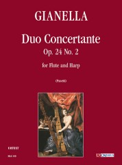 Gianella, Luigi : Duo Concertante Op. 24 No. 2 for Flute and Harp