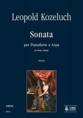 Kozeluch, Leopold : Sonata for Piano or Harp