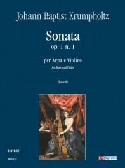 Krumpholtz, Johann Baptist : Sonata Op. 1 No. 1 for Harp and Violin