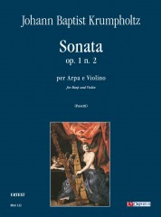 Krumpholtz, Johann Baptist : Sonata Op. 1 No. 2 for Harp and Violin