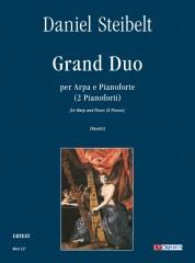 Steibelt, Daniel : Grand Duo for Harp and Piano (2 Pianos)