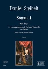 Steibelt, Daniel : Sonata I for Harp with Violin and Violoncello ad libitum