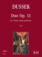 Dussek, Jan Ladislav : Duo Op. 11 for 2 Pianos (Harp and Piano)