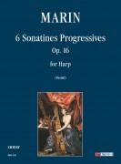 Marin, Marie-Martin : 6 Sonatines progressives Op. 16 for Harp