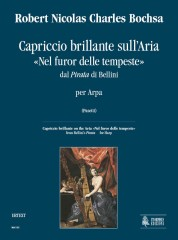 "Bochsa, Robert Nicolas Charles : Capriccio brillante on the Aria ""Nel furor delle tempeste"" from Bellini's ""Pirata"" for Harp"