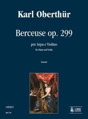 Oberthür, Karl : Berceuse Op. 299 for Harp and Violin