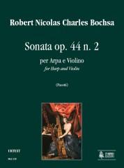 Bochsa, Robert Nicolas Charles : Sonata Op. 44 No. 2 for Harp and Violin