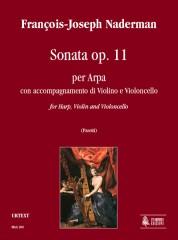Naderman, François-Joseph : Sonata Op. 11 for Harp, Violin and Violoncello