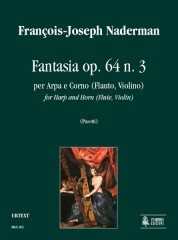 Naderman, François-Joseph : Fantasia Op. 64 No. 3 for Harp and Horn (Flute, Violin)