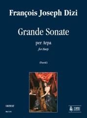 Dizi, François Joseph : Grande Sonate for Harp