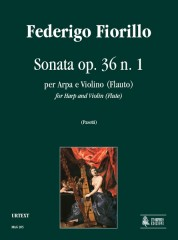 Fiorillo, Federigo : Sonata Op. 36 No. 1 for Harp and Violin (Flute)
