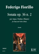 Fiorillo, Federigo : Sonata Op. 36 No. 2 for Harp and Violin (Flute)