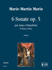 Marin, Marie-Martin : 6 Sonatas Op. 5 for Harp or Piano