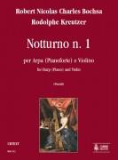 Bochsa, Robert Nicolas Charles - Kreutzer, Rodolphe : Nocturne No. 1 for Harp (Piano) and Violin