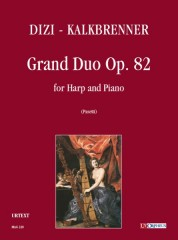 Dizi, François Joseph - Kalkbrenner, Frédéric : Grand Duo Op. 82 for Harp and Piano