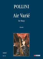 Pollini, Francesco : Air Varié for Harp