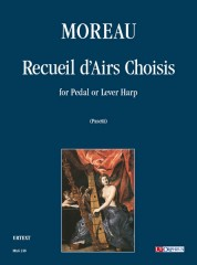 Moreau, G. : Recueil d'Airs Choisis for Pedal or Lever Harp