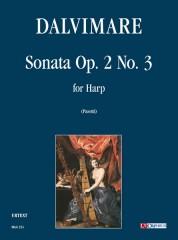 Dalvimare, Martin-Pierre : Sonata Op. 2 No. 3 for Harp