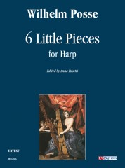 Posse, Wilhelm : 6 Little Pieces for Harp