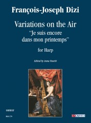 """Dizi, François Joseph : Variations on the Air """"Je suis encore dans mon printemps"""" for Harp"""