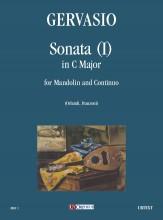 Gervasio, Giovan Battista : Sonata (I) in C Major for Mandolin and Continuo