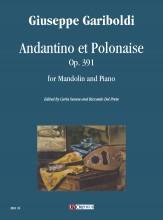 Gariboldi, Giuseppe : Andantino et Polonaise Op. 391 for Mandolin and Piano