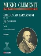 Clementi, Muzio : Gradus ad Parnassum Op. 44 for Piano - Vol. 1