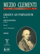 Clementi, Muzio : Gradus ad Parnassum Op. 44 for Piano - Vol. 2
