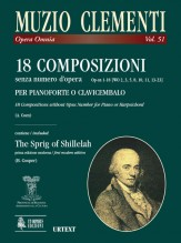 Clementi, Muzio : 18 Compositions without opus number Op-sn 1-18 (WO 2, 3, 5, 8, 10, 11, 13-23) for Harpsichord (Piano)
