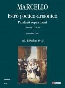 Marcello, Benedetto : Estro poetico-armonico. Parafrasi sopra Salmi (Venezia 1724-26) - Vol. 4: Psalms 19-25