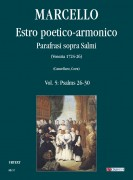 Marcello, Benedetto : Estro poetico-armonico. Parafrasi sopra Salmi (Venezia 1724-26) - Vol. 5: Psalms 26-30