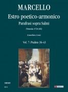 Marcello, Benedetto : Estro poetico-armonico. Parafrasi sopra Salmi (Venezia 1724-26) - Vol. 7: Psalms 36-43