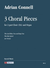 Connell, Adrian : 3 Choral Pieces for 2-part Choir (SA) and Organ