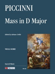 Piccinni, Niccolò : Mass in D Major [Vocal Score]