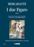 Mercadante, Saverio : I due Figaro o sia Il soggetto di una commedia (1826) [Vocal Score]