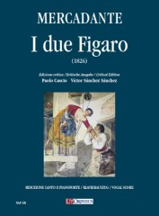 Mercadante, Saverio : I due Figaro o sia Il soggetto di una commedia (1826) [Vocal Score]