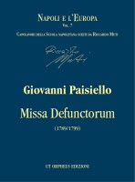 Paisiello, Giovanni : Missa Defunctorum. Requiem for Soloists, Choir and Orchestra (1789/1799) [Score]