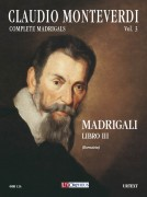 Monteverdi, Claudio : Madrigali. Libro III (Venezia 1592) [Score]
