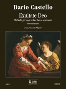 Castello, Dario : Exultate Deo. Motet (Venezia 1625) for Voice and Continuo