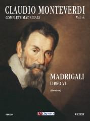 Monteverdi, Claudio : Madrigali. Libro VI (Venezia 1614) [Score]