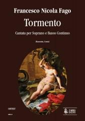 Fago, Francesco Nicola : Tormento. Cantata for Soprano and Continuo