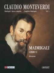 Monteverdi, Claudio : Complete Madrigals (10 Vols.) [Score]