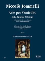 Jommelli, Niccolò : Betulia Liberata. Arias for Alto [Vocal Score]