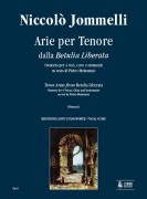 Jommelli, Niccolò : Betulia Liberata. Arias for Tenor [Vocal Score]