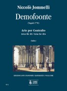 Jommelli, Niccolò : Demofoonte. Arias for Alto [Vocal Score]