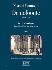 Jommelli, Niccolò : Demofoonte. Ensemble Pieces [Vocal Score]