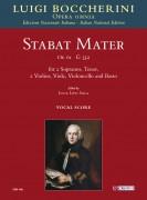 Boccherini, Luigi : Stabat Mater Op. 61 (G 532) for 2 Sopranos, Tenor, 2 Violins, Viola, Violoncello and Basso [Vocal Score]