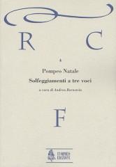 Natale, Pompeo : Solfeggiamenti a tre voci (Roma 1674/81)