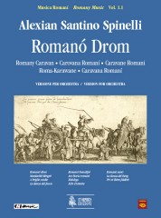 Spinelli, Alexian Santino : Romanó Drom (Romany Caravan) for Accordion, Voice and Orchestra [Score]